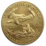 2013-W 1 oz Burnished Gold Eagle MS-70 PCGS First Strike